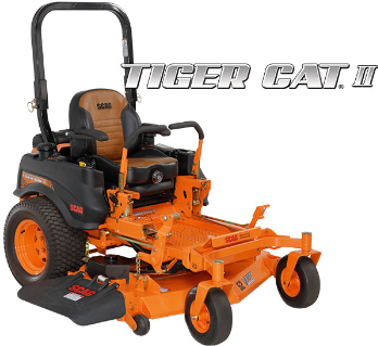 SCAG Tiger Cat II Commercial Zero Turn Lawn Mower