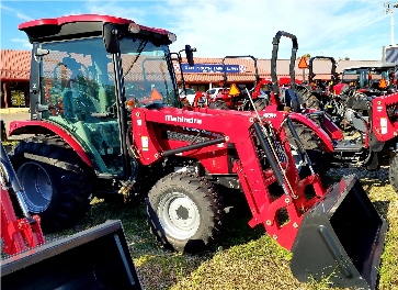 Mahindra 2545 Cab Tractor with Loader