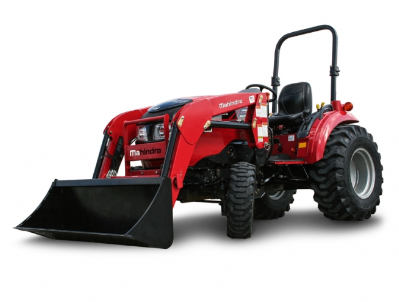 Mahindra 1533 Shuttle Tractor with Loader