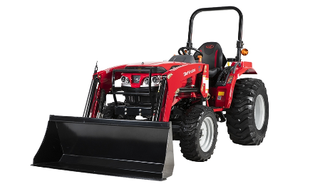 Mahindra 1626 Shuttle Tractor with Loader