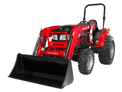 Mahindra 1640 Shuttle Tractor with Loader