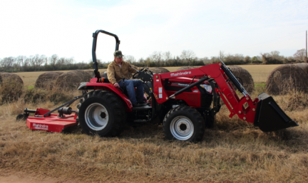 Mahindra 2545 Shuttle Tractor with Loader
