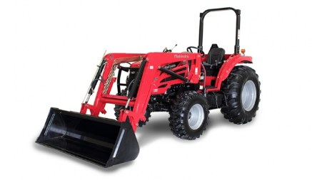 Mahindra 2555 Shuttle Tractor with Loader