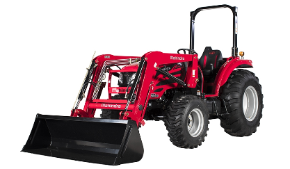 Mahindra 2655 Shuttle Tractor with Loader