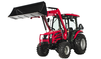Mahindra 2655 Shuttle Cab Tractor with Loader