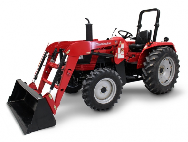 Mahindra 5545 Shuttle Tractor with Loader