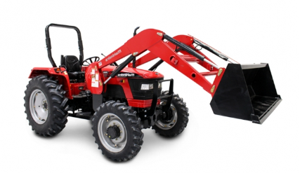 Mahindra 5570 Shuttle Tractor with Loader