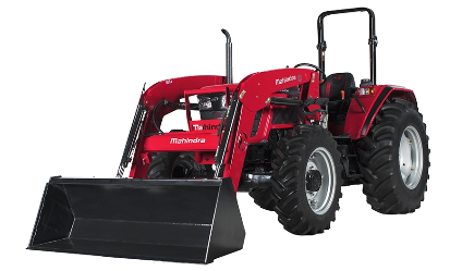 Mahindra 6075 Power Shuttle Tractor with Loader