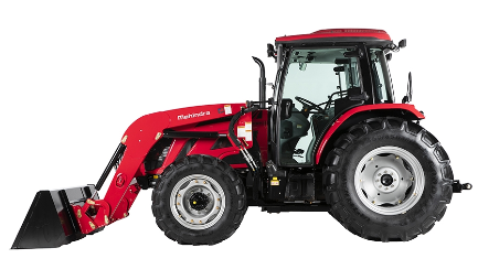 Mahindra 8090 Power Shuttle Cab Tractor with Loader