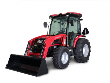 Mahindra 3550 Cab Tractor with Loader