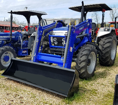 Farmtrac 60-75 Series, 75HP, 4WD, With Loader