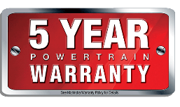 Mahindra 5 Year Limited Powertrain Warranty